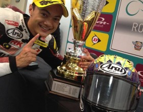ZAQHWAN IS THE YOUNGEST ARRC CHAMPION
