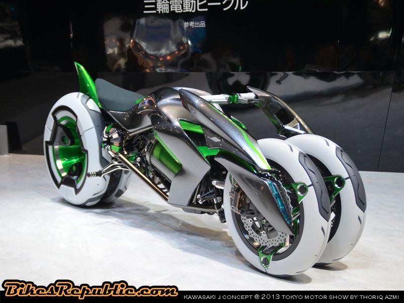 Kawasaki Transforming Bike