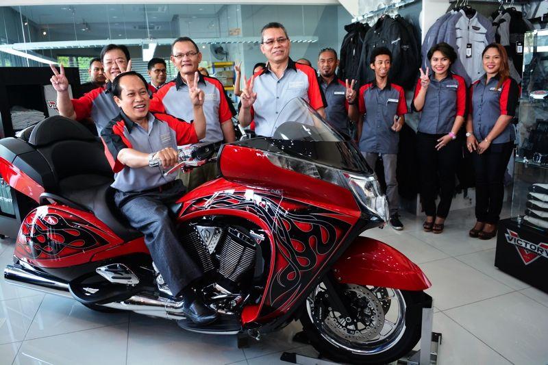 Victory debuts in Malaysia - BikesRepublic
