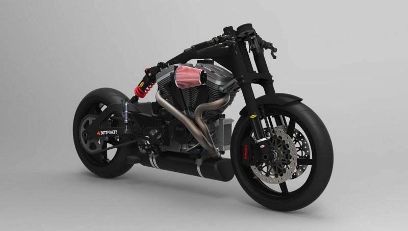 Bottpower reveals new café racer - BikesRepublic