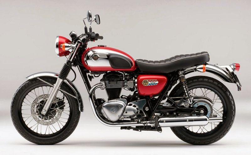 New Kawasaki W800 Chrome Edition Revealed