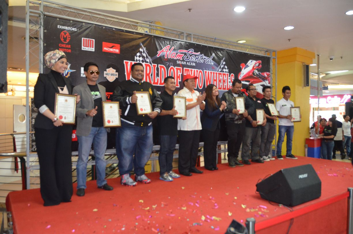 The World of Two Wheels was officially launched yesterday evening at ...