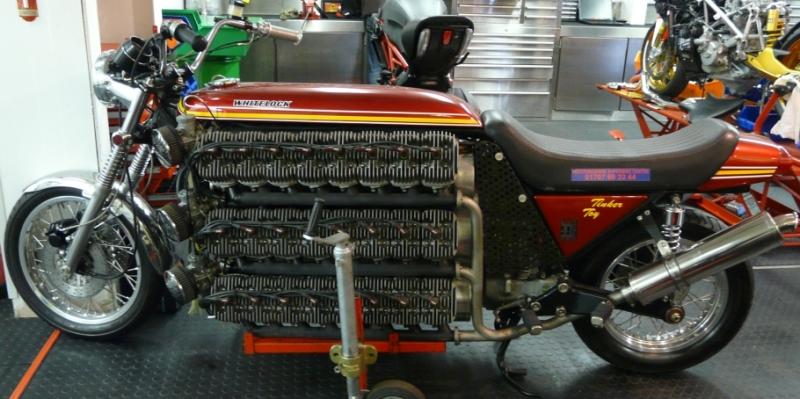 Meet The 48 Cylinder Whitelock Tinker Toy Bikesrepublic