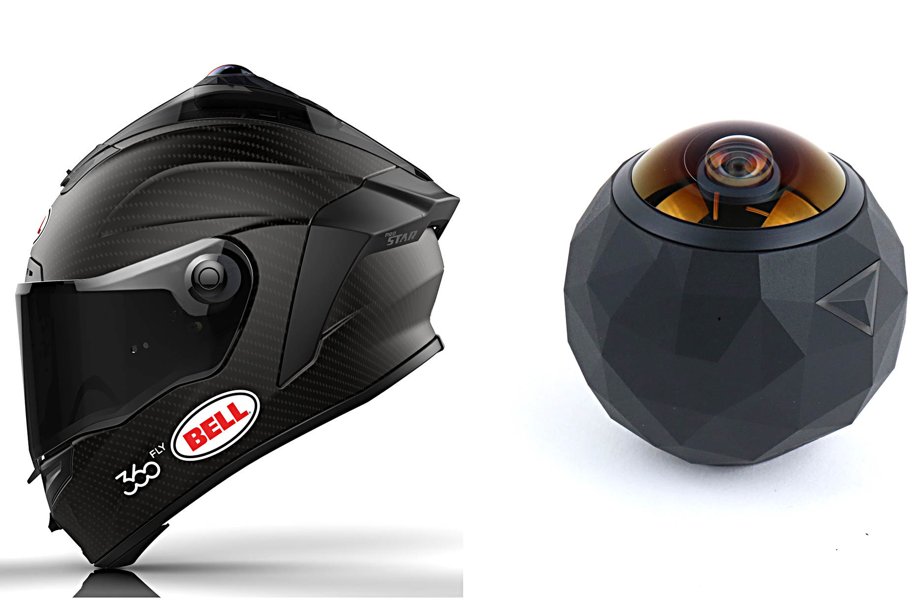 Bell Shows Off Helmet With Integrated 360 Degree Video