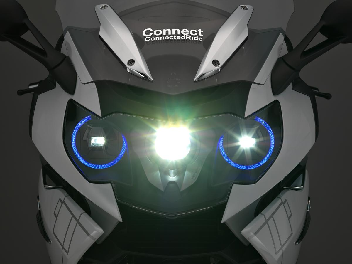 Bmw Motorrad Develops Laser Headlights And Hud Bikesrepublic