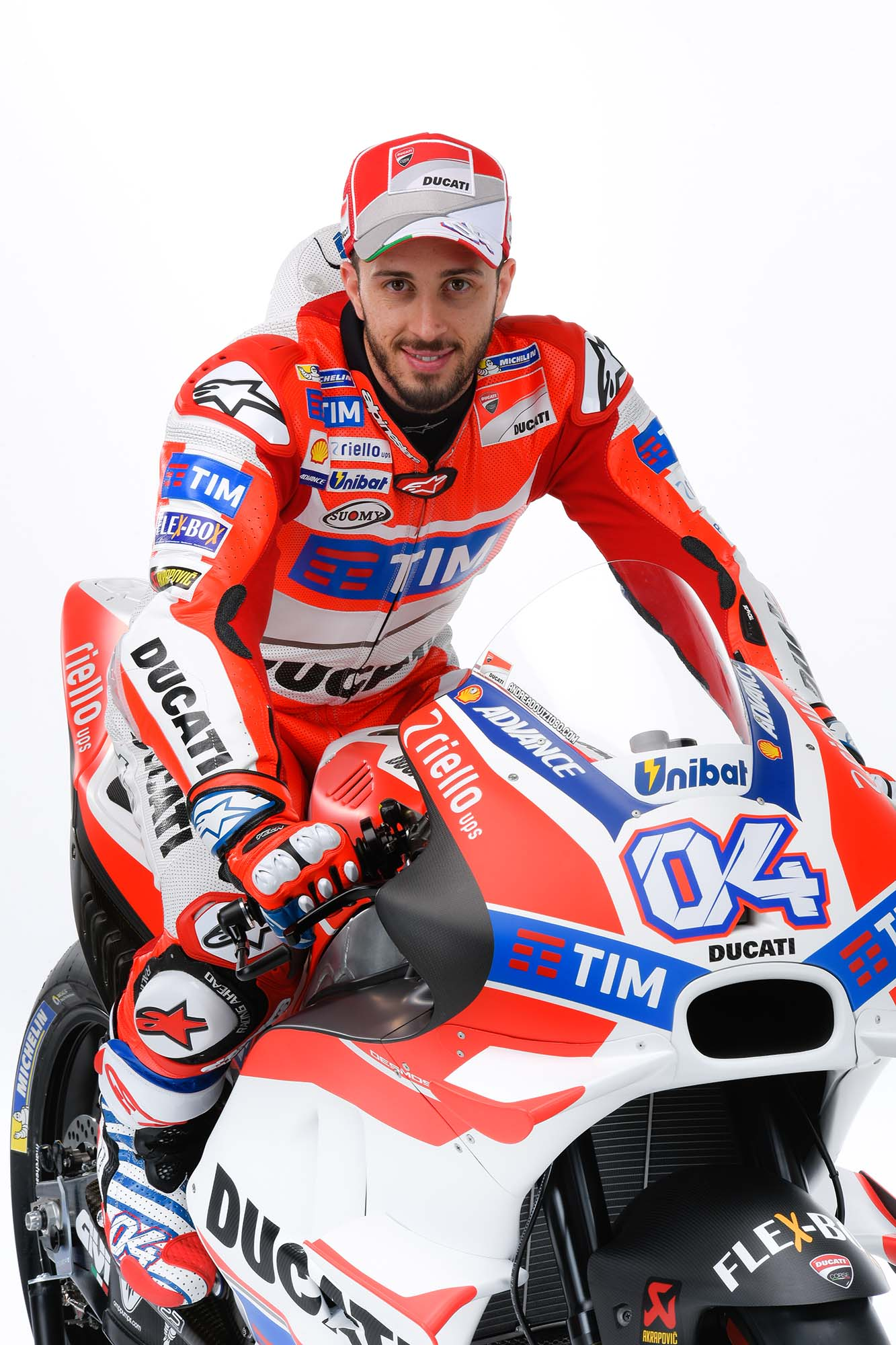 motogp andrea dovisioso remains in ducati for 2017 bikesrepublic. Black Bedroom Furniture Sets. Home Design Ideas