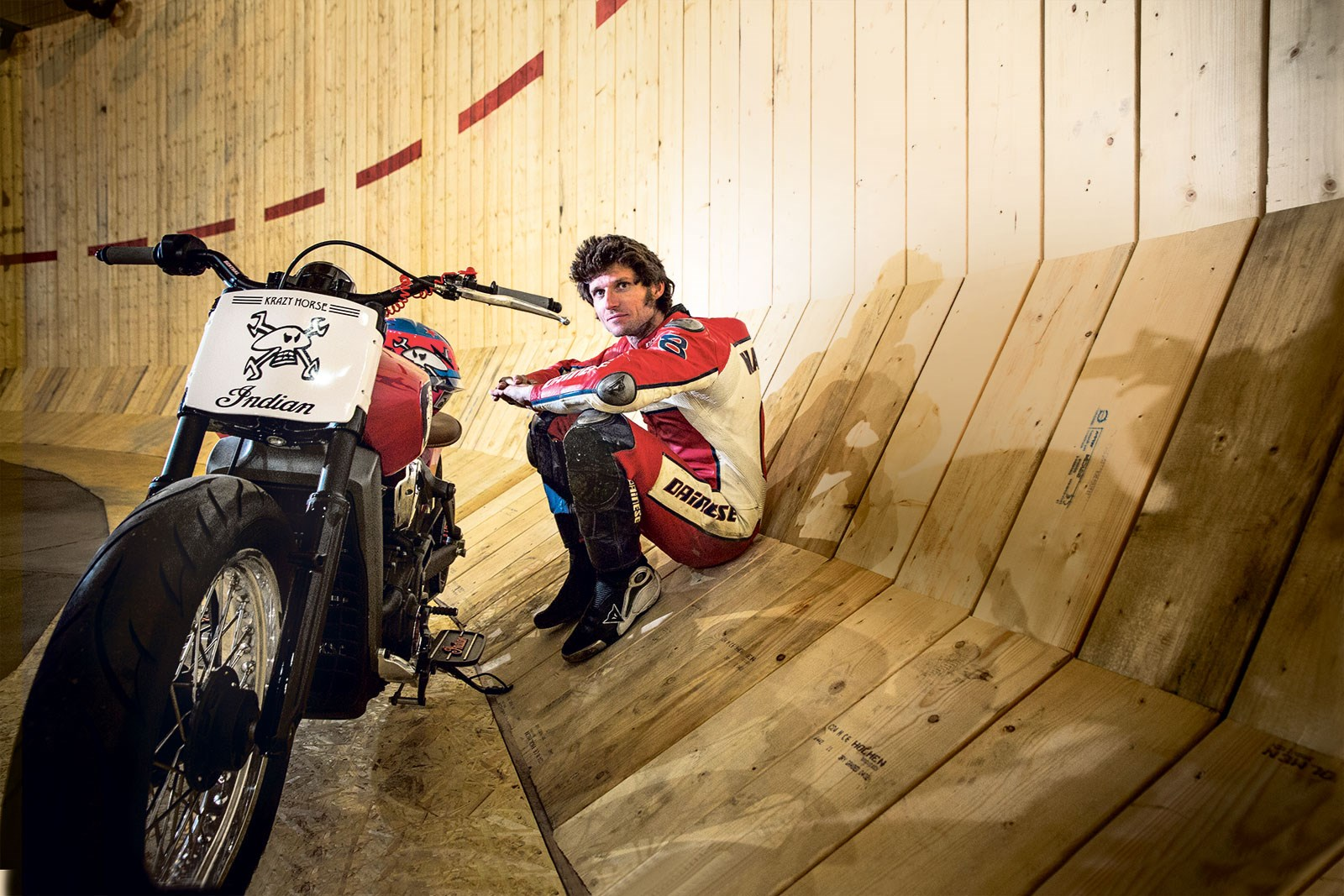 Video: Guy Martin breaks Wall of Death speed record ...