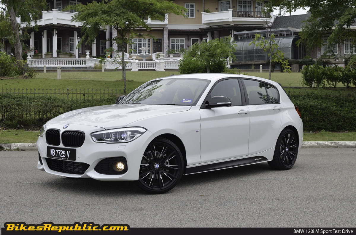 bmw 120i m sport bikesrepublic. Black Bedroom Furniture Sets. Home Design Ideas
