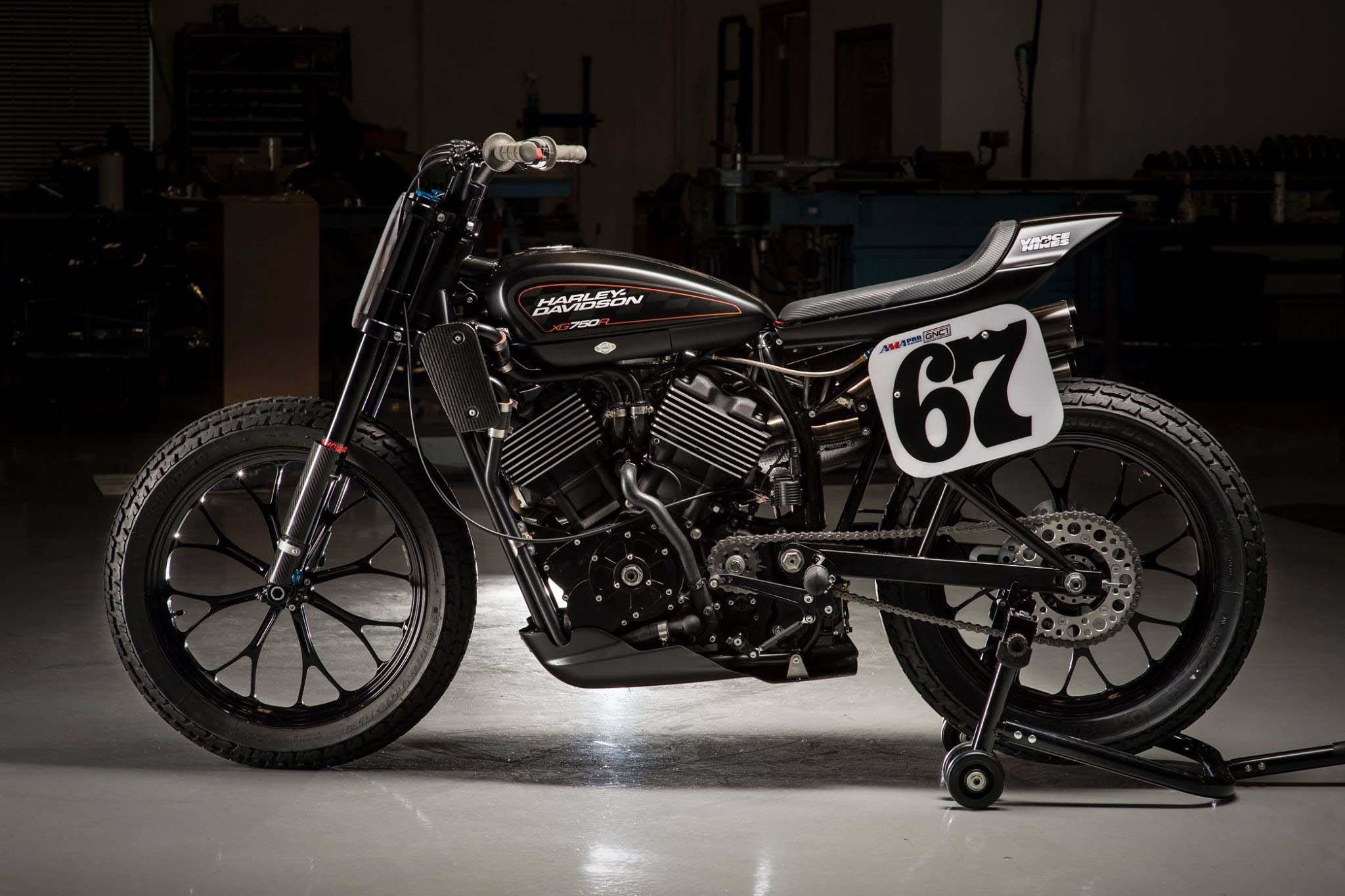 New Harley Davidson: New Harley-Davidson XG750R Flat-tracker Debuts