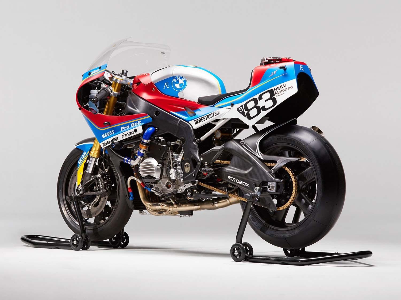Praem BMW S1000RR Vintage Race Bike 01