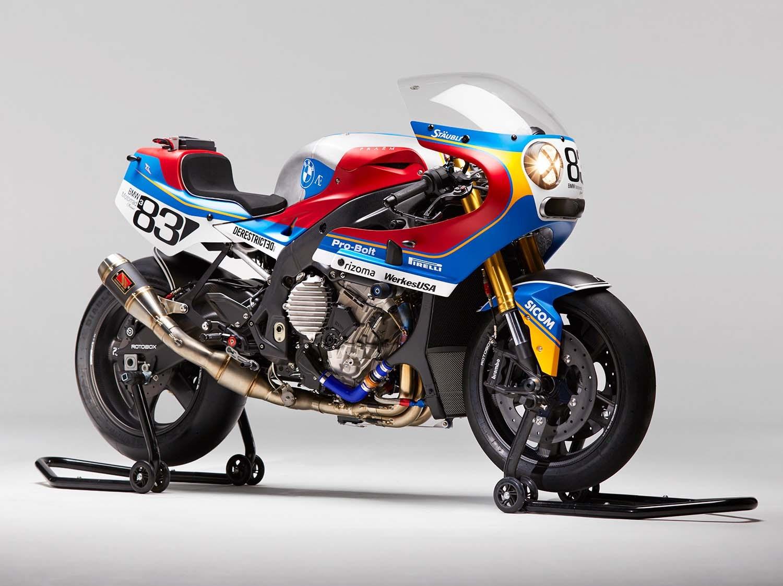 praëm bmw s1000rr – a retro-modern racer (with video) - bikesrepublic