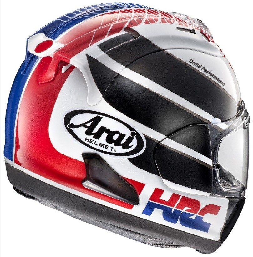 arai rx 7v hrc limited edition helmet announced bikesrepublic. Black Bedroom Furniture Sets. Home Design Ideas