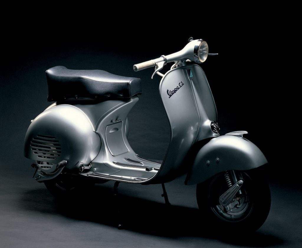 top 10 coolest classic vespas ever bikesrepublic. Black Bedroom Furniture Sets. Home Design Ideas