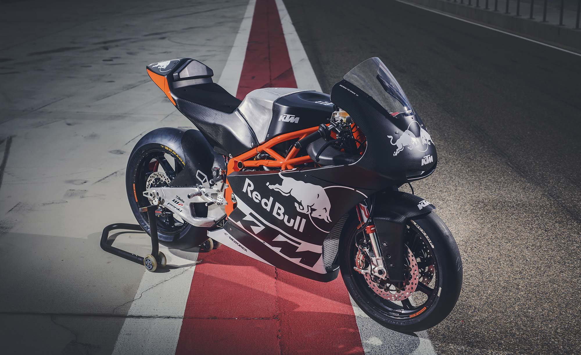 KTM Moto2 is ready to race - BikesRepublic