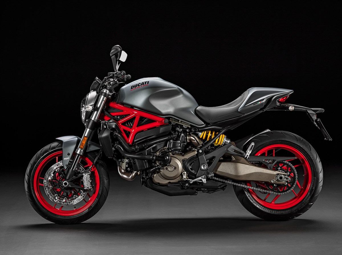 Leading This Was The 2017 Ducati 1299 Panigale Superbike That Gets Updated  With The EVO Iterations Of Its Electronics Derived From The 1299 Panigale S  ...