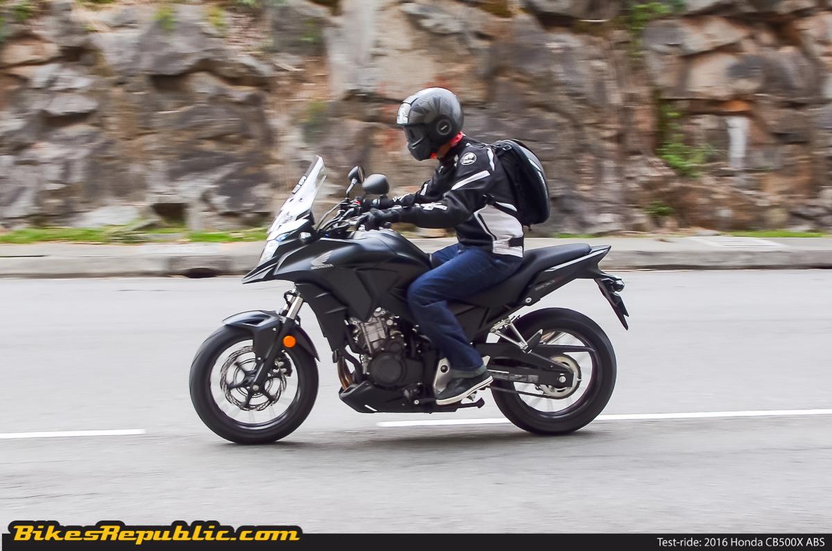 Test-ride: 2016 Honda CB500X ABS - BikesRepublic