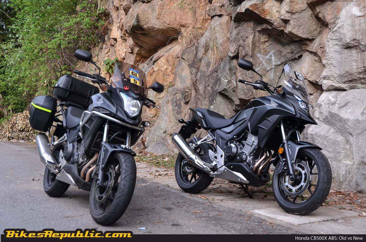 New Honda Motorcycles 2018 >> Old vs new: Honda CB500X ABS (with video) - BikesRepublic