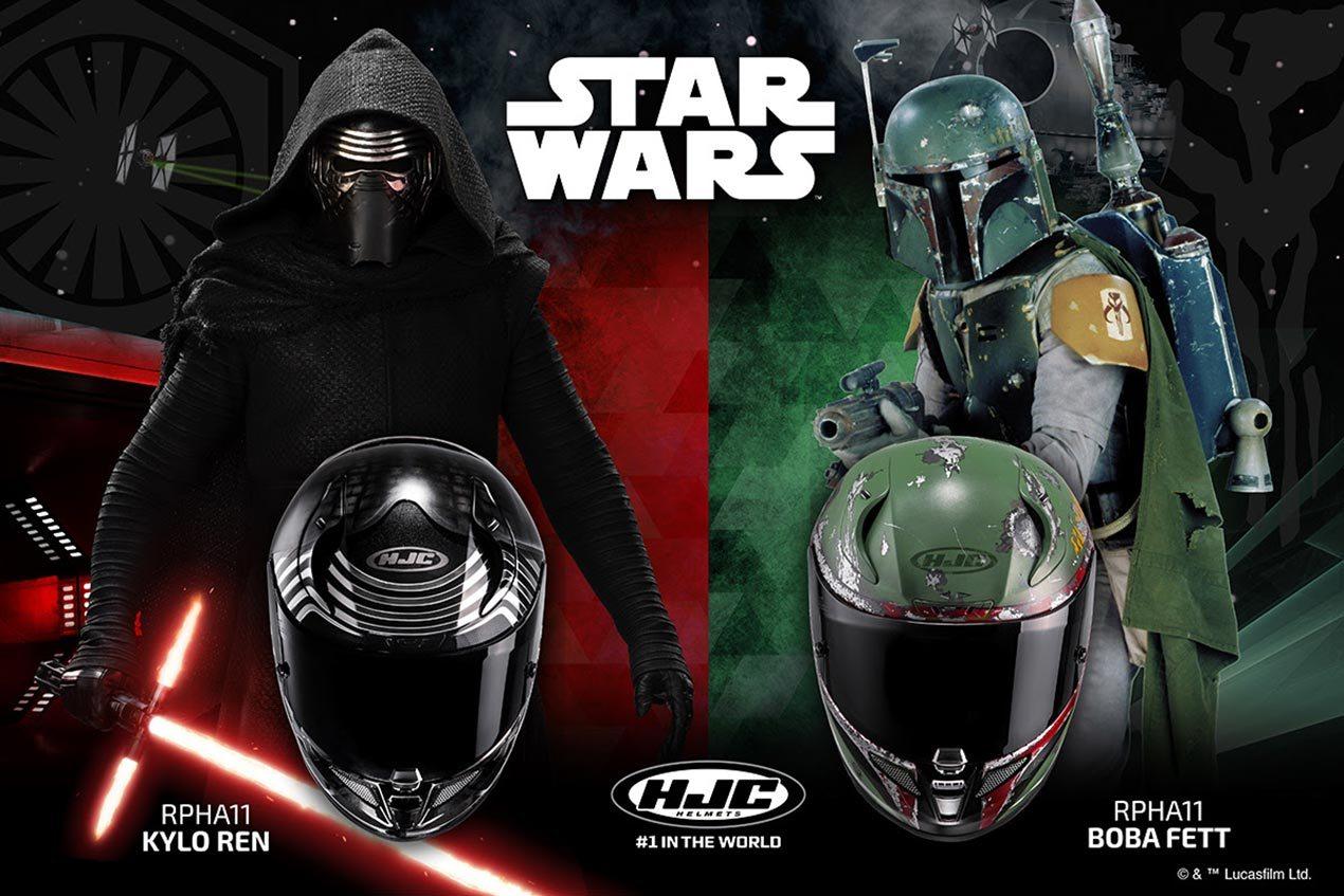 HJC Star Wars replica helmets announced - BikesRepublic