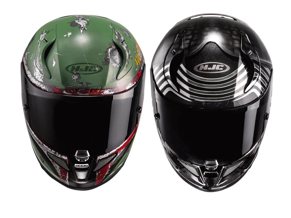 hjc star wars replica helmets announced bikesrepublic. Black Bedroom Furniture Sets. Home Design Ideas