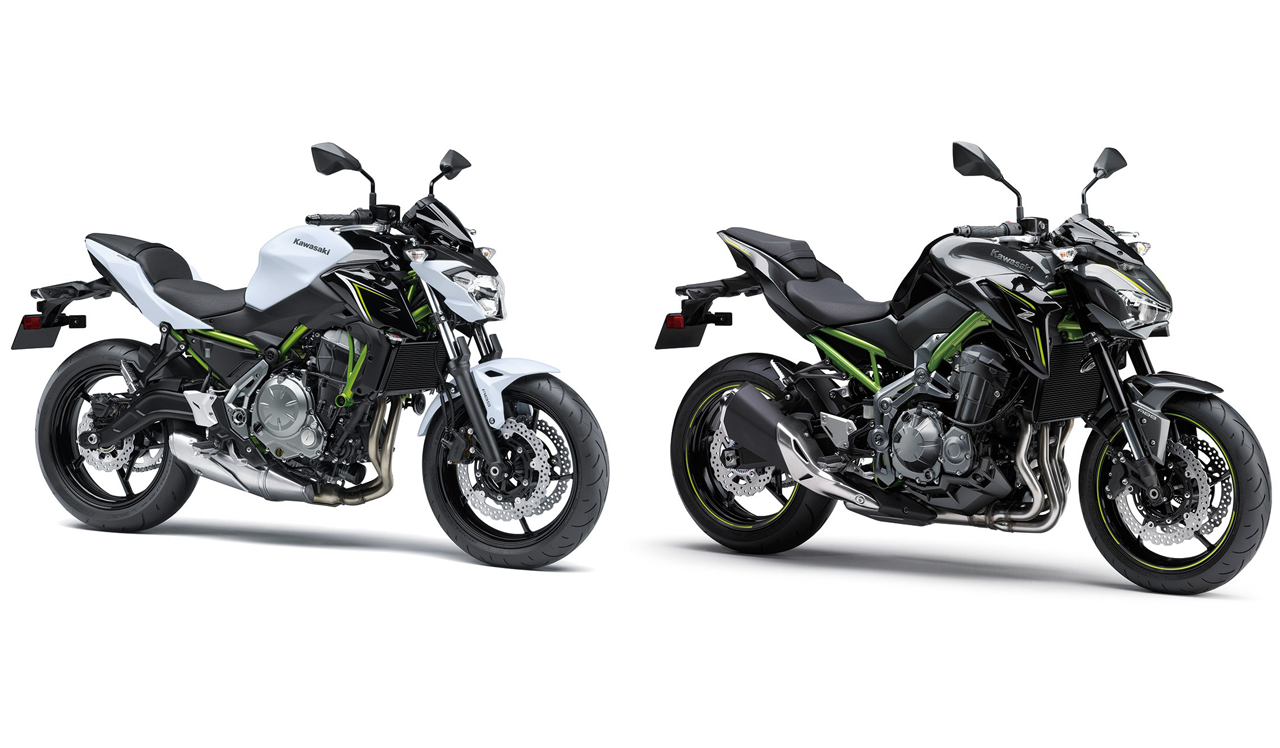 New Kawasaki Z650 And Z900