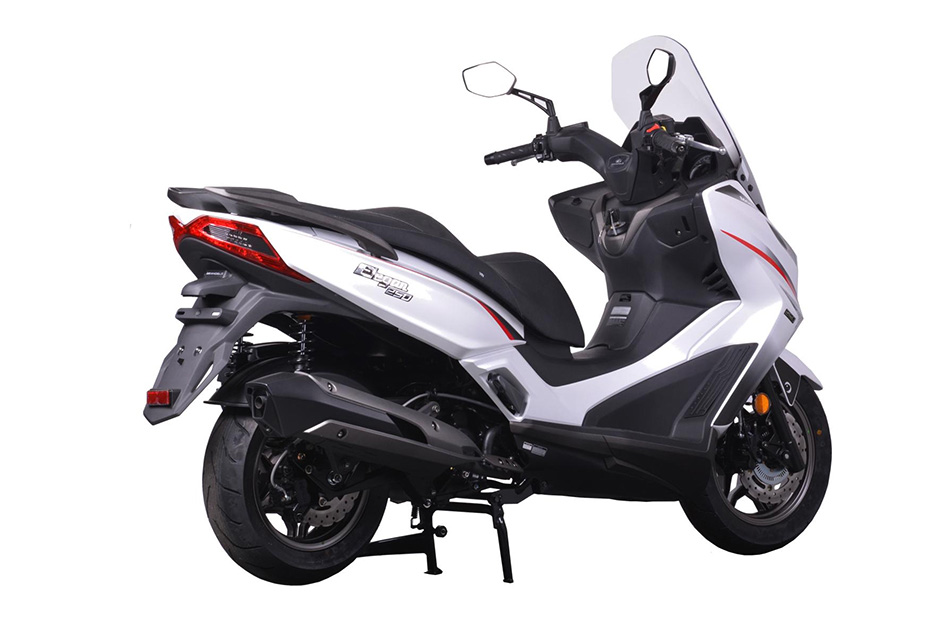 New Modenas Karisma 125 & Elegan 250 scooters launched - BikesRepublic