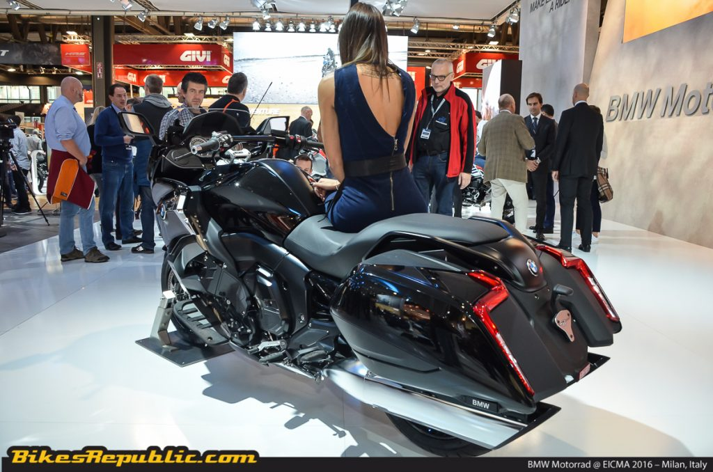 2018 BMW K 1600 Bagger Price Announced - BikesRepublic