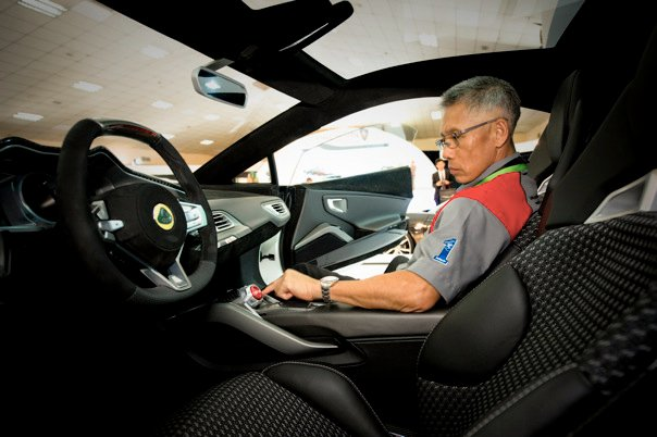 Kah Beng @ Lotus Cars (Image source: Facebook)