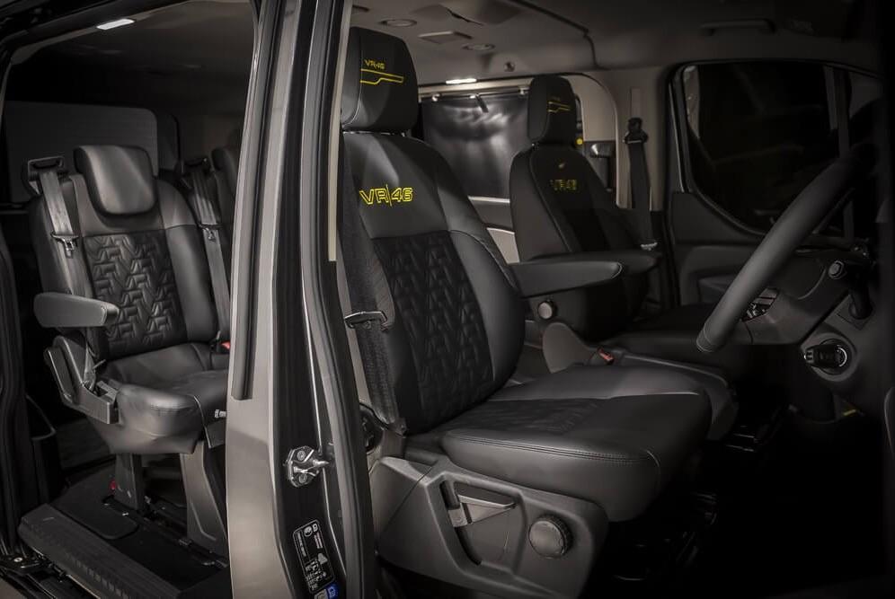 Minibus For Sale >> Gallery: Custom VR46 Ford vehicles - BikesRepublic