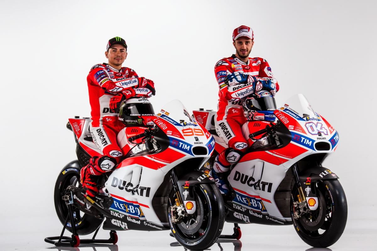 2017 Ducati MotoGP livery unveiled, V4 superbike confirmed - BikesRepublic
