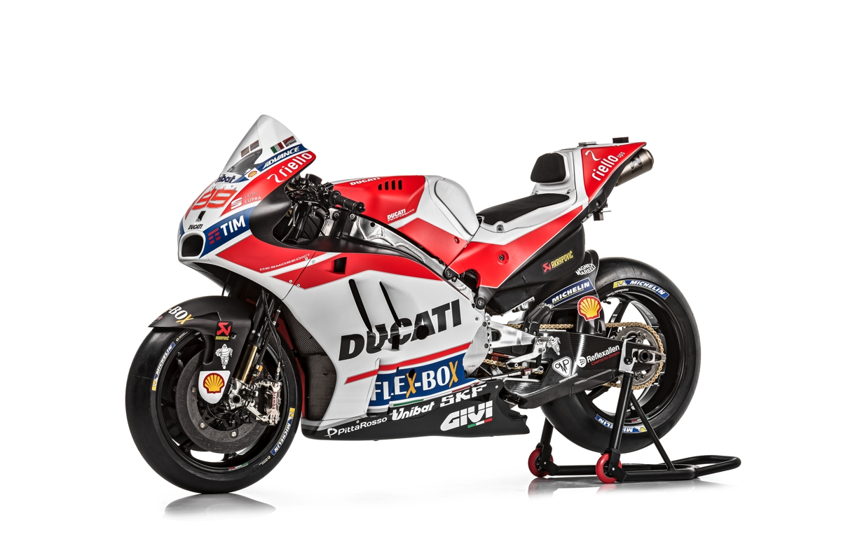 2017 ducati motogp livery unveiled v4 superbike confirmed bikesrepublic. Black Bedroom Furniture Sets. Home Design Ideas
