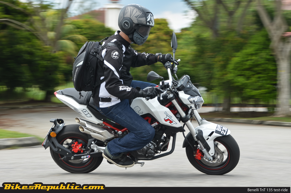 Test-ride: Benelli TnT 135 – Mighty mini-moto! - BikesRepublic