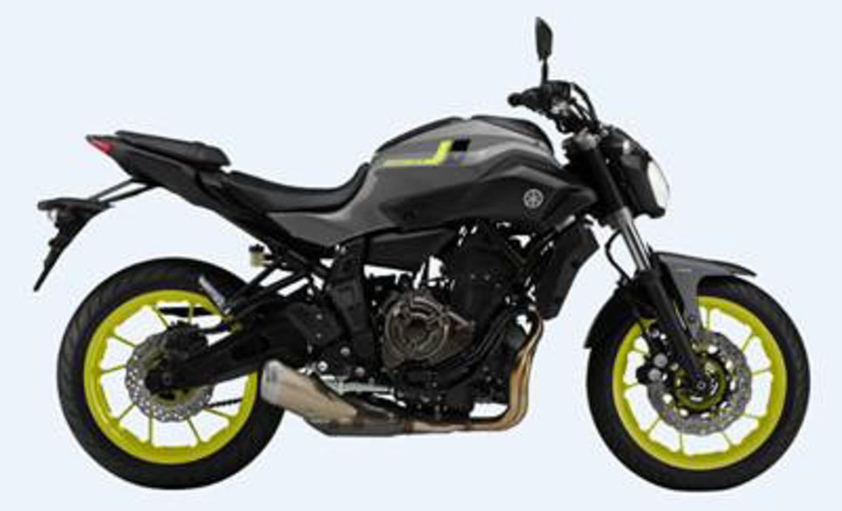 Bmw Nine T Pure >> Yamaha MT-07 New Colours for 2017 - BikesRepublic