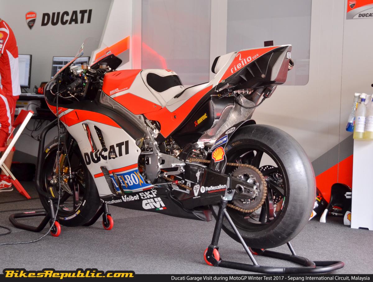 ducati desmosedici gp17 - a closer look - bikesrepublic
