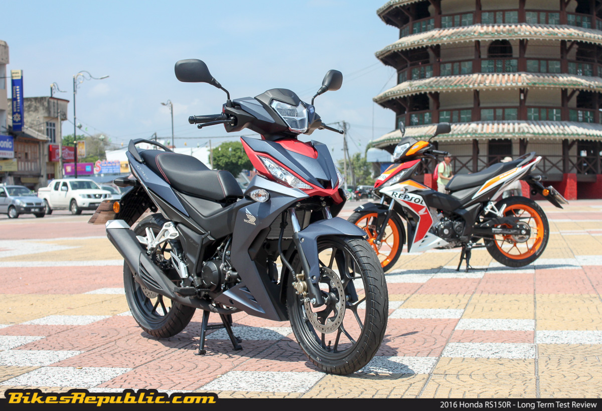 2016 honda rs150r long term test bikesrepublic for Motor cycle without gear