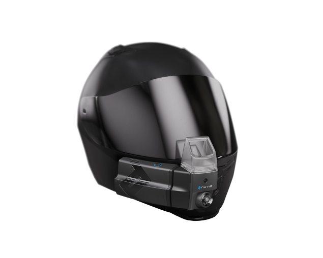 ktm hud helmet with nuviz system