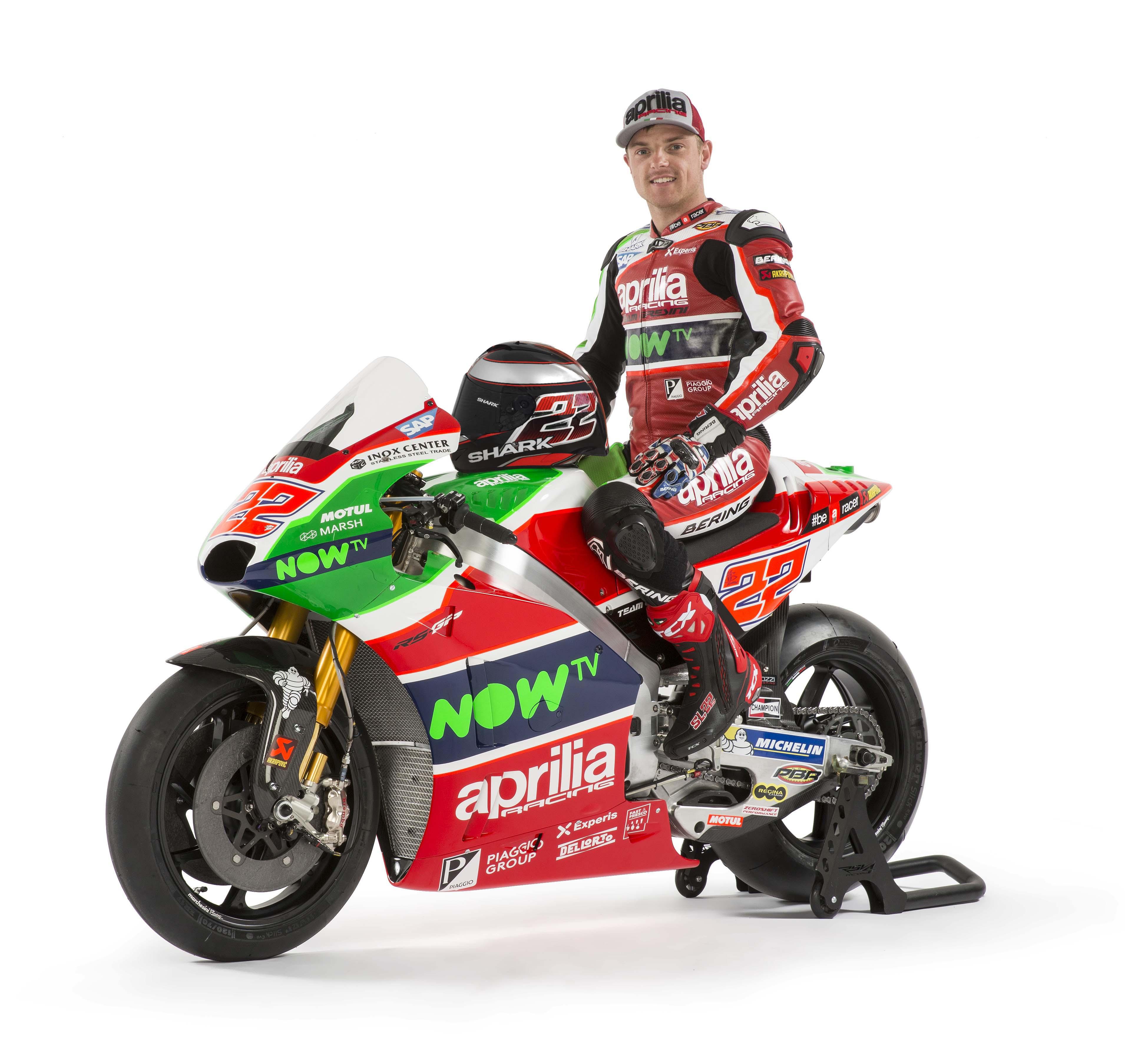 The 2017 Aprilia RS-GP MotoGP Race Bike Debuts - Asphalt