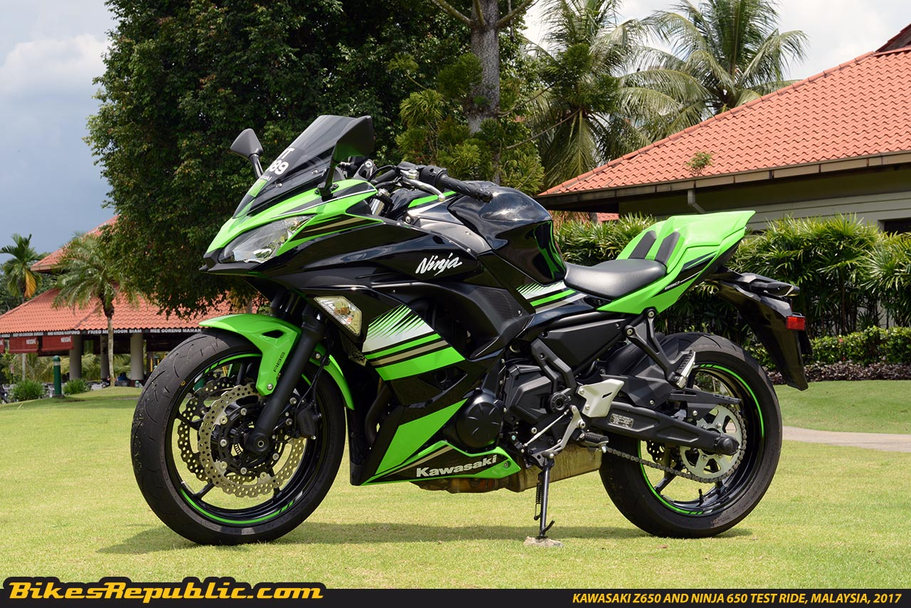 top 10 things we like about the 2017 kawasaki ninja 650 abs and kawasaki z650 abs bikesrepublic. Black Bedroom Furniture Sets. Home Design Ideas