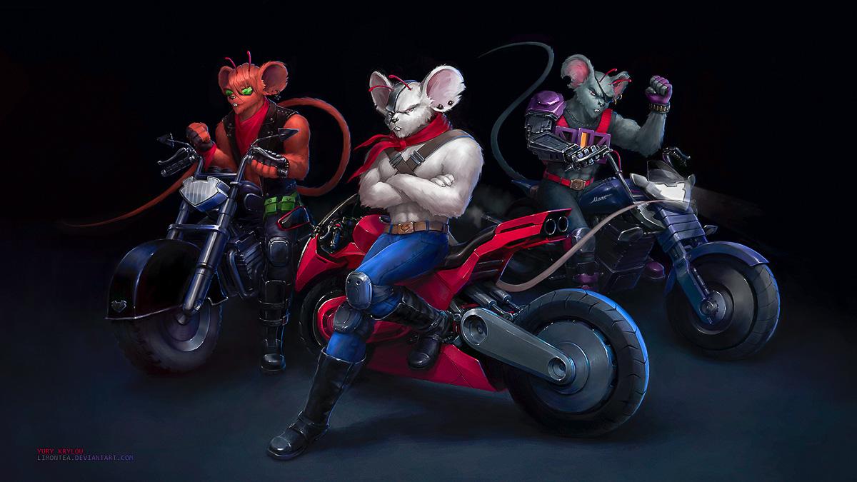 How to Be a Biker Mice from Mars Fan