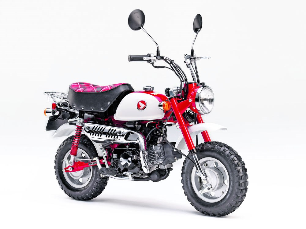2018 honda monkey. unique 2018 50th anniversary monkey bike comes in magna red and shasta white for 2018 honda monkey