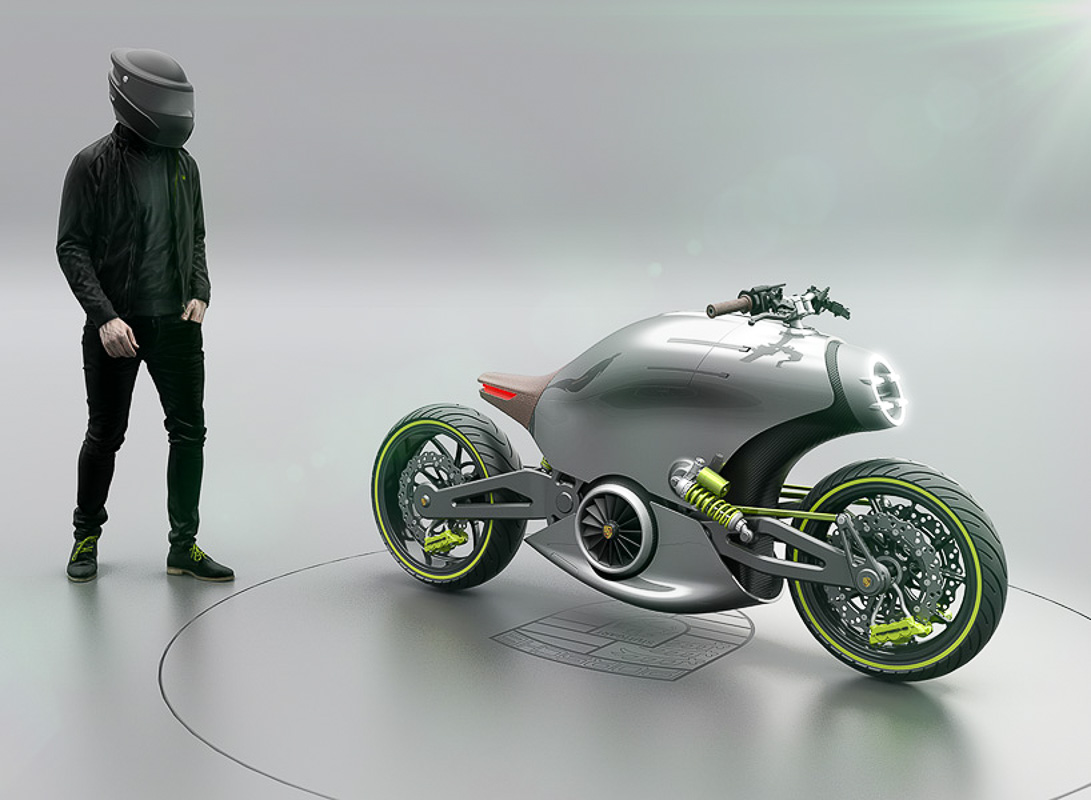 An Electric Motorcycle Concept From Porsche Bikesrepublic