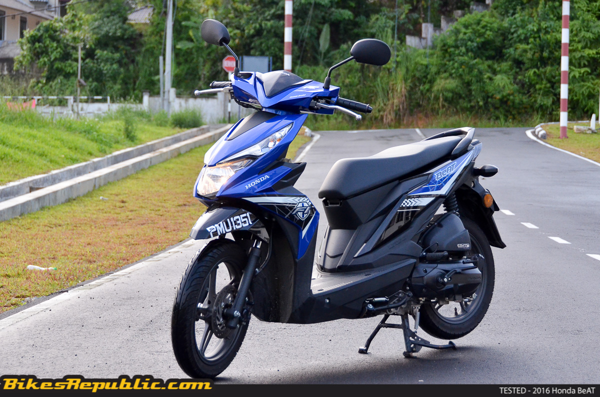 Tested 2016 Honda Beat Bikesrepublic
