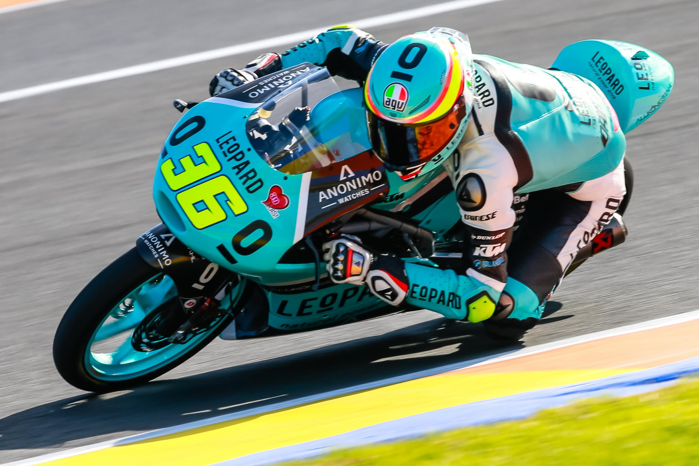 Moto3 Joan Mir Makes It Two In A Row Bikesrepublic Win Tutup Leopard Racing Continued His Perfect Season With Second Straight