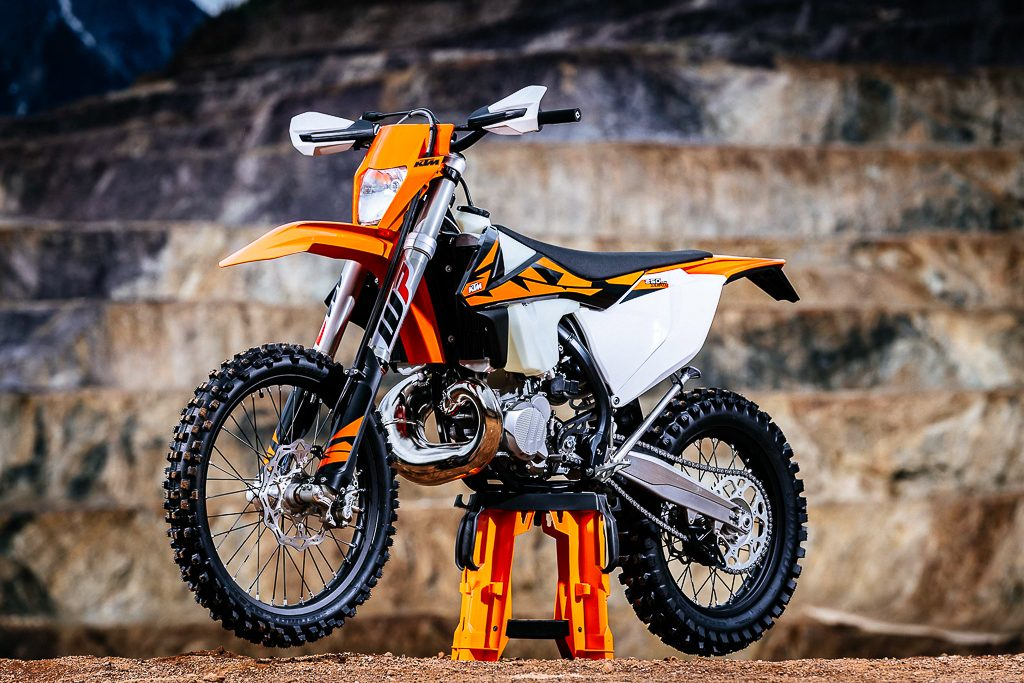 2018 ktm xc 250. beautiful ktm since the 250 exc tpi and 300 are going to front line movement  of twostroke machines into future ktm has also implemented brand new  inside 2018 ktm xc