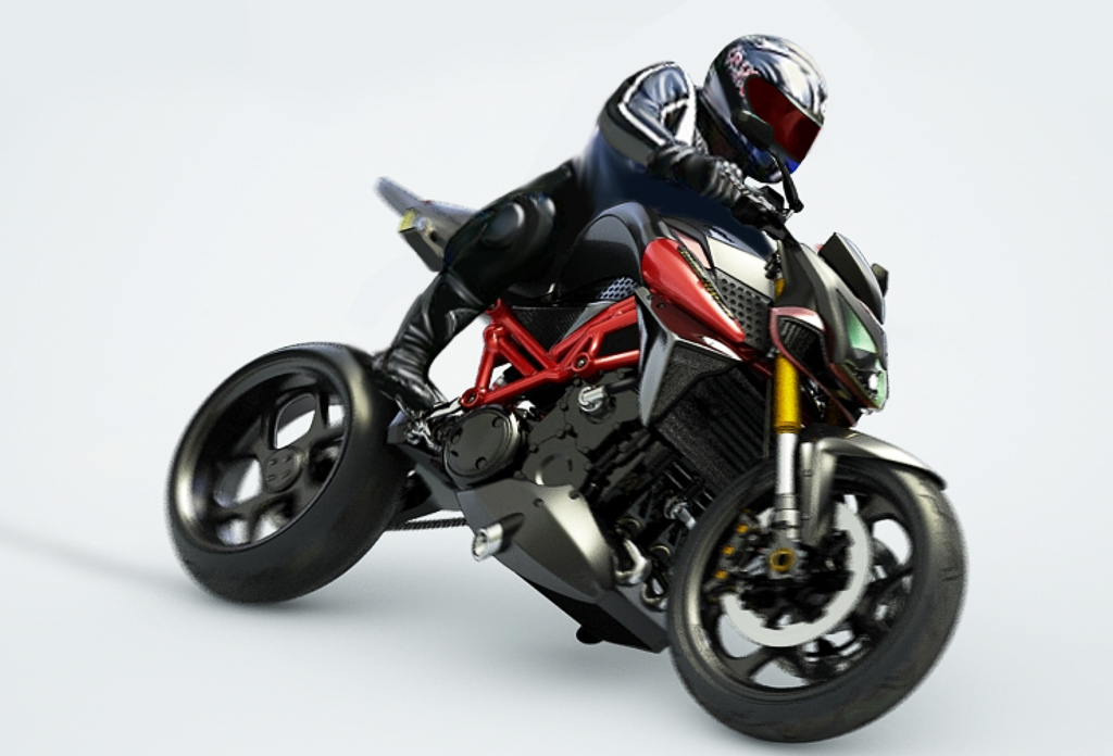 Ducati Panigale 1200cc >> Furion Motorcycles designs a Torque Monster Hybrid Motorcycle Concept - BikesRepublic