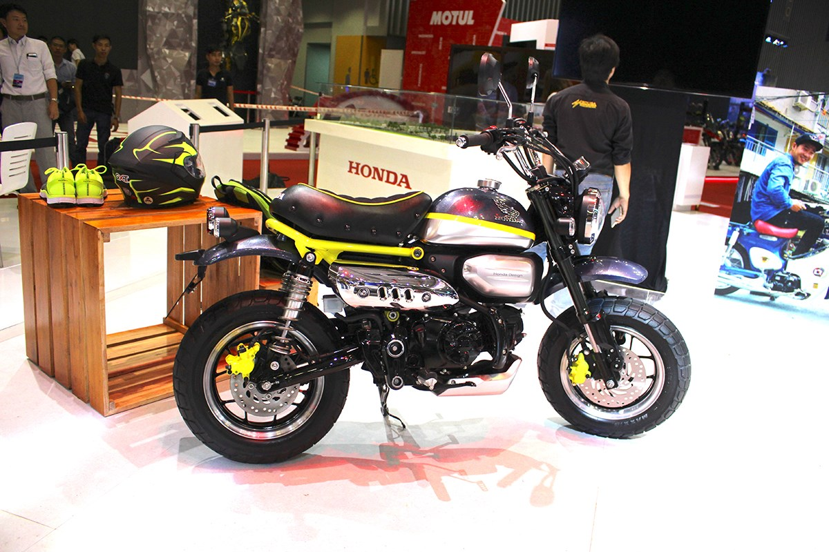 honda monkey 125 concept unveiled at the 2017 vietnam motor show bikesrepublic. Black Bedroom Furniture Sets. Home Design Ideas