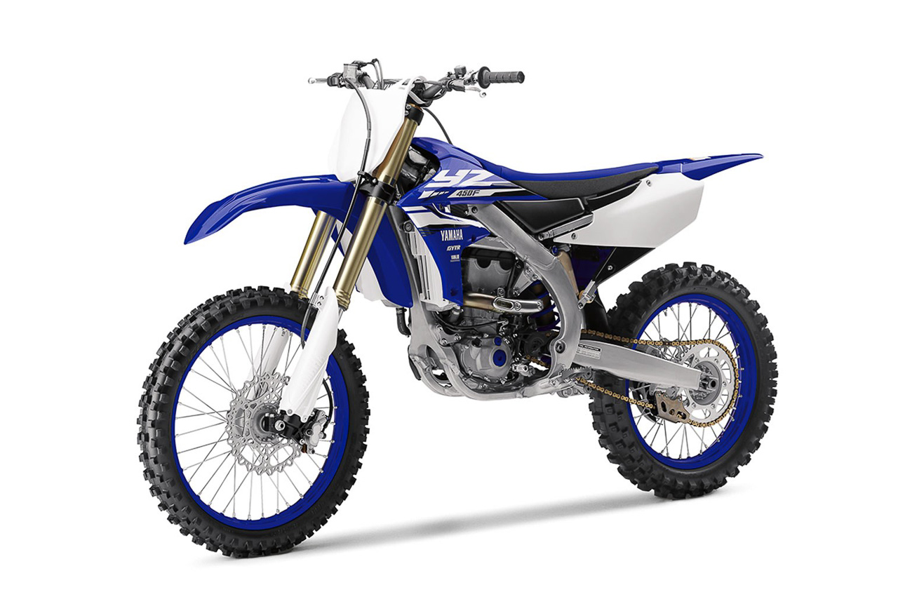 2018 yamaha yz450f a dirt bike you can tune using your for Yamaha road motorcycles