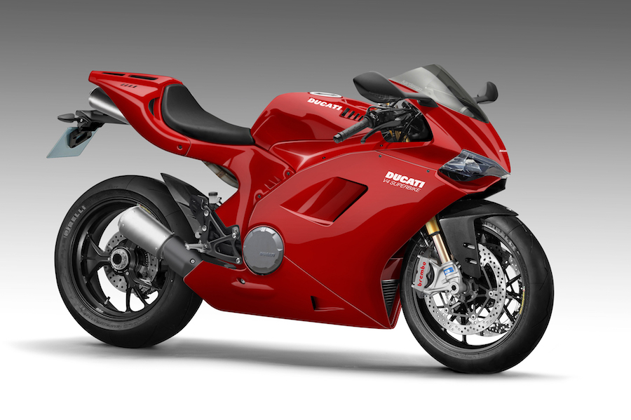 "ducati unveils name for new v4 engine – ""desmosedici stradale"
