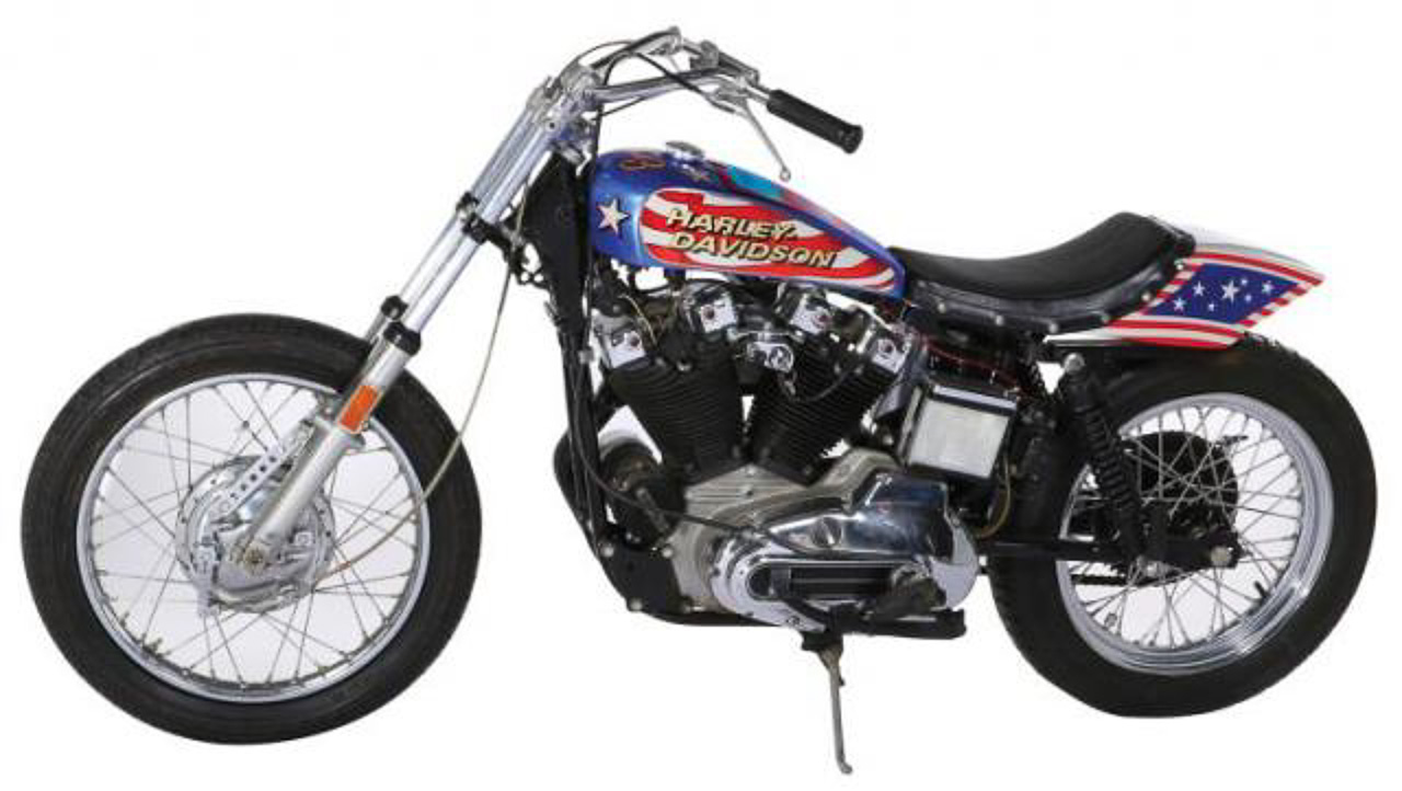 Famous Evel Knievel Bike At Auction: Evil Knievel Stunt Bike For Sale