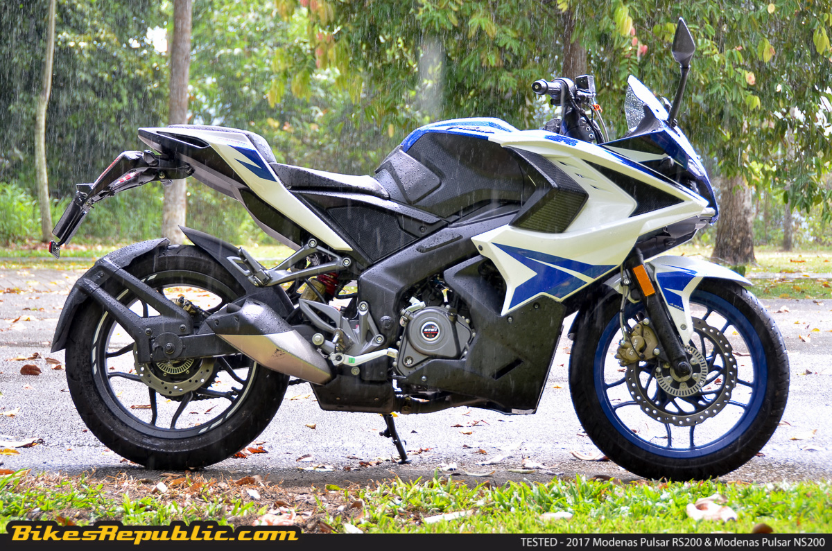 another mystery video showing top speed of the modenas pulsar rs200 bikesrepublic. Black Bedroom Furniture Sets. Home Design Ideas