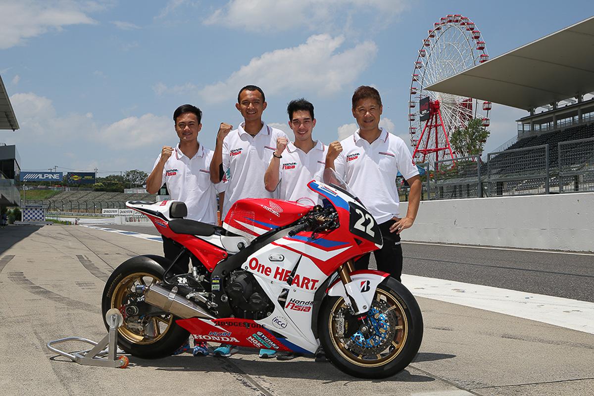 Boon siew honda gets satu hati honda team asia ready for for Motor city powersports hours
